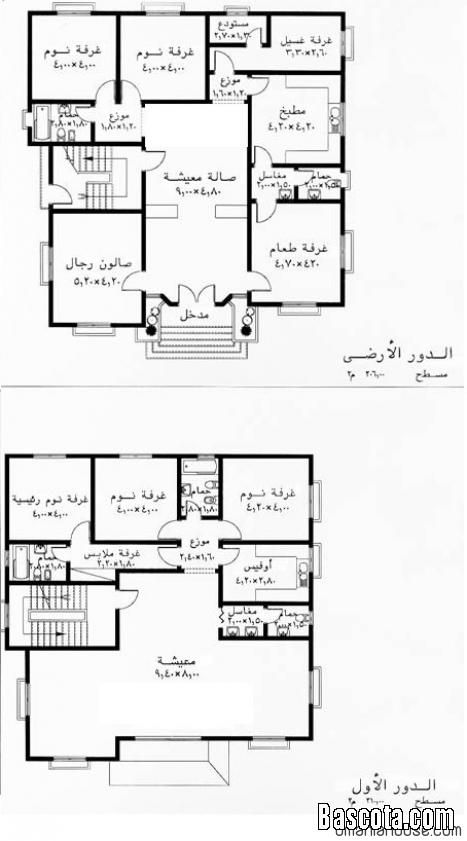 خرائط منازل حديثة Square House Plans My House Plans 2bhk House Plan