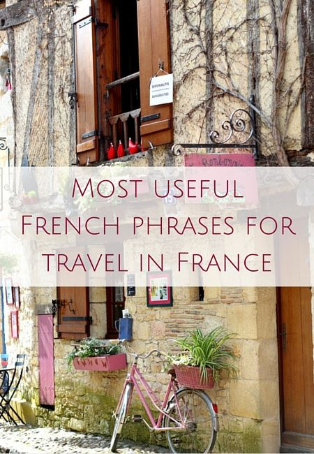 Most useful French phrases for travel in France (AUDIO)