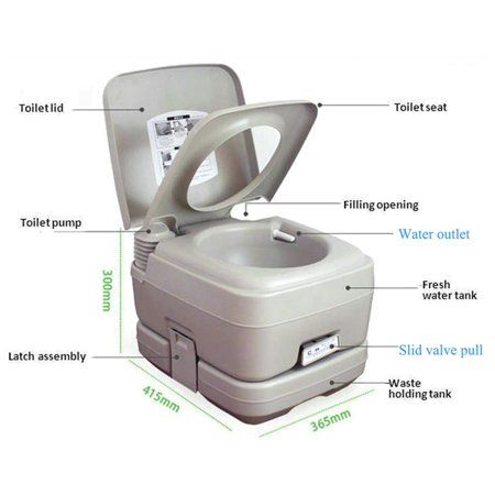 Sports Outdoors Portable Toilet For Camping Camping Toilet