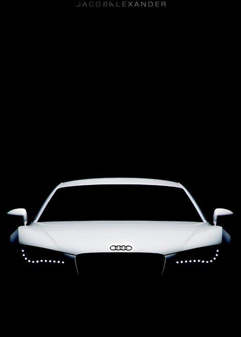 Audi's iconic headlights