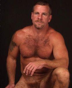 Hairy men naked
