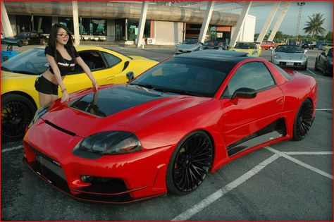Widebody 3000gt Vr4 Mitsubishi 3000gt Japan Cars Sports Cars Luxury