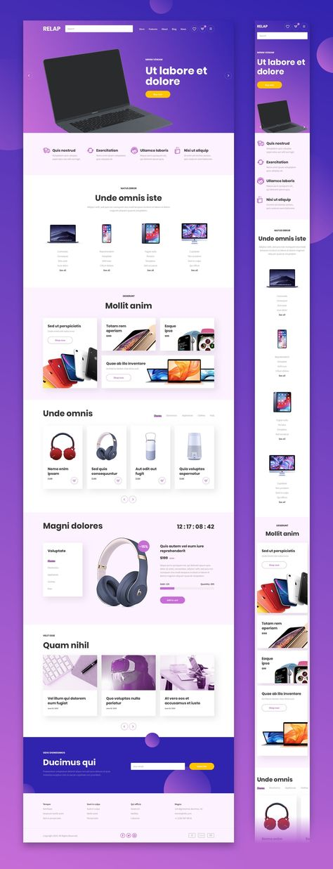 RELAP – Responsive Landing Pages