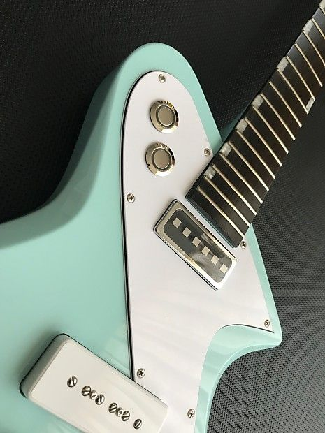 Psychlone Offset Guitar With Square Pole Pickup B Stock Hu Tonelabs Reverb Guitar Guitar Design All Music Instruments
