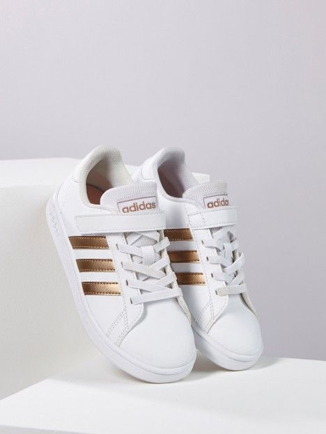 sneakers enfant grand court k adidas