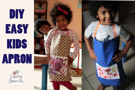 Child's Apron DIY Tutorial- Tuesday Morning Haul  GIVEAWAY!