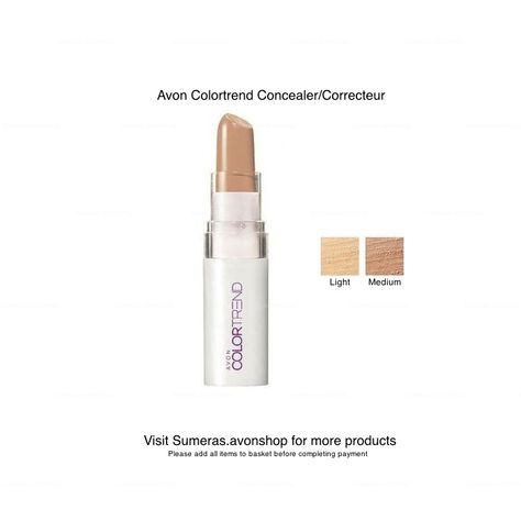 Avon ColorTrend Perfect & Hide Concealer Available in Light & Medium ~ FREE P&P #Avon