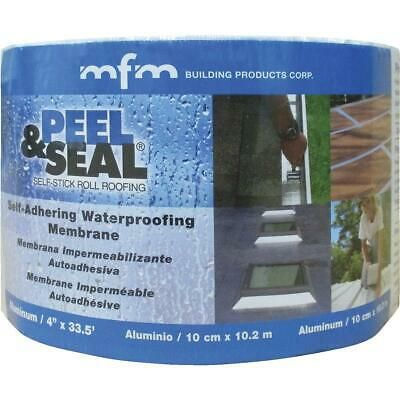 Sponsored Ebay Mfm Peel Seal 4 In X 33 5 Ft Aluminum Roofing Membrane 50041 1 Each In 2020 Roofing Aluminum Roof Reflective Insulation