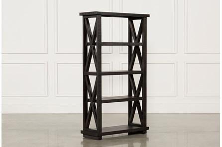 Jaxon 82 Inch Bookcase Bookcase Warm Decor Solid Pine