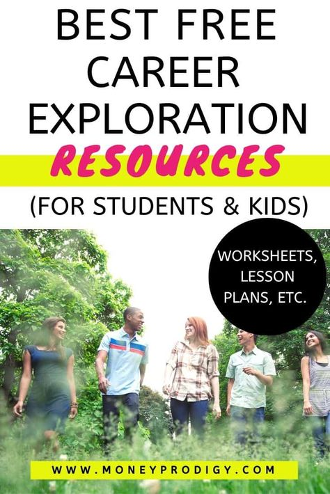 Career Exploration for Students and Kids (19 Free Resources)