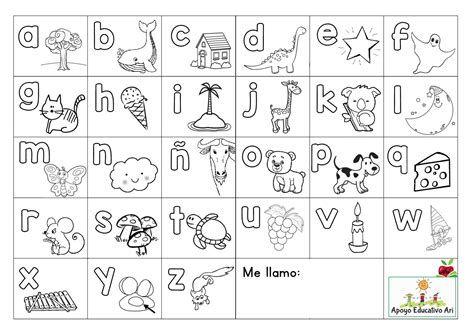 Abecedario En Ingles Para Colorear Y Para Imprimir Imagenes Del Abecedario El Abecedario En Español Abecedario Para Recortar
