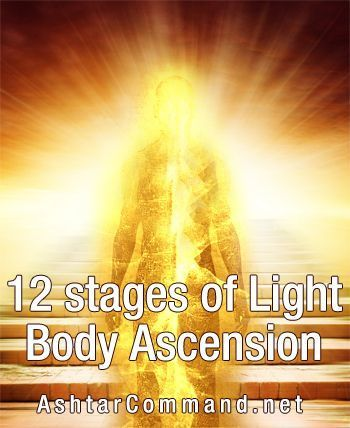12 Stages Of Light Body Ascension Ashtar Command Spiritual Community Network Spiritual Ascension Ascension Symptoms Spirituality
