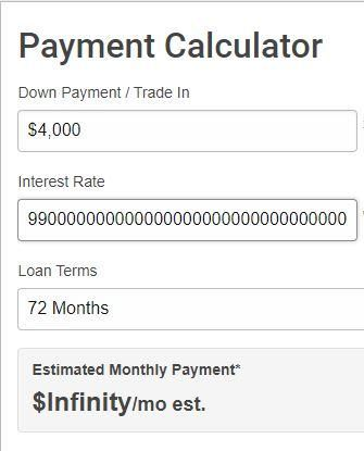 This Payment Calculator Will Calculate Your Payments Using Euler S Number Until You Get To Infinite Monthly Payments Paypal Business Monthly Payments Merger