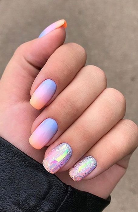 20 Cute Summer Nail Designs For 2020 In 2020 Pinterest Nail Ideas Summer Nails Colors Designs Ombre Nail Designs