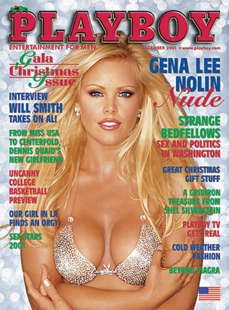 Playboy magazine cover December 2001