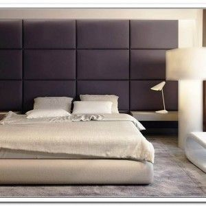 Wall Mounted Upholstered Headboard Panel System Upholstered
