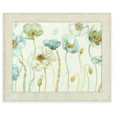 The Timeless Aesthetic Of The Framed Greenhouse Flower Wall Art Features  Splendid Floral Imagery Teeming With Vibrant Hues. A Distressed White Framu2026