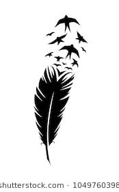 Black Feather Art And Design
