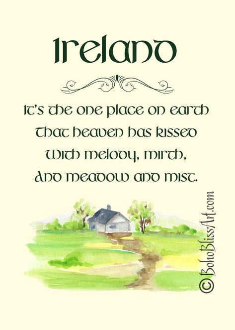 Ireland Quote that Captures the Beauty & Culture of the Emerald Isle