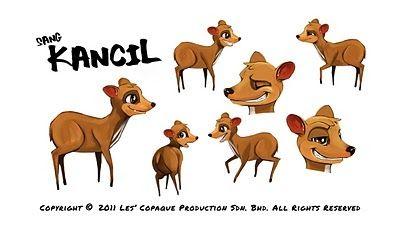 Paling Populer 16 Gambar Kartun Binatang Kancil Di 2020 Kartun