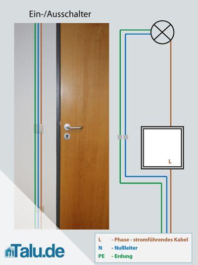 Lichtschalter Anschliessen Anleitung Mit Schaltplan Talu De Lichtschalter Elektroinstallation Haus Elektroinstallation