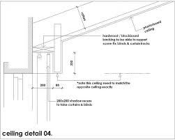 Recessed Drapery Pocket Detail Dwg Google Search Curtain Track Curtains With Blinds Ceiling Detail