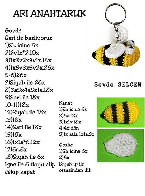 Amigurumi arı maya – 10marifet.org   637x473
