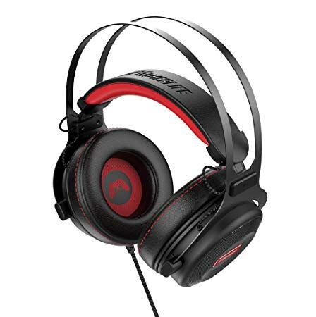 Amazon Com Pro Gaming Headset With Mic Universal Game Changing Premium 3d Hd Stereo Sound Video Gamer Wired Hea Wired Headphones Gaming Headset Headphones