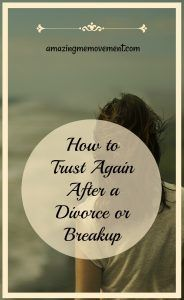 Divorce and relationship breakdowns can leave an awful taste of mistrust for a long long time but you can learn how to trust again and you should. Find out how. #howtotrustagain #divorcehelp #divorceadvice #relationshipadvice #healingfromdivorce #dealingwithdivorce #womenhelpingwomen #lifetips #howtobehappy #lifechanging #inspirationalblogs