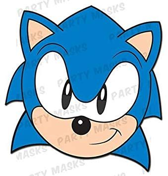 Image Result For Sonic The Hedgehog Face Masks Sonic The Hedgehog Sonic Hedgehog