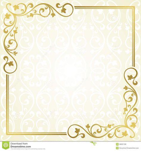 Card Design Ideas Soft Gold Colored Invitation Cards