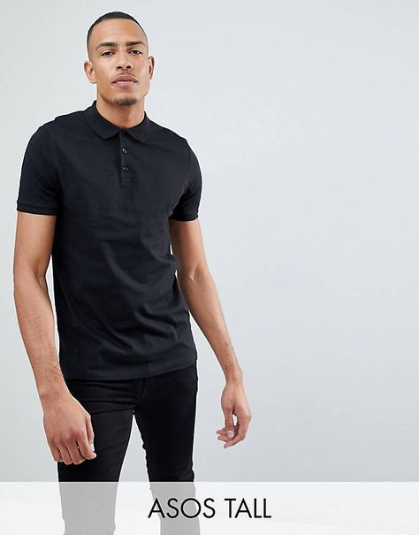 14ef3d70ace 00 Nike matchup polo shirt in black 909746-010  45.00 ASOS DESIGN knitted  revere polo t-shirt in tan  29.00 ASOS DESIGN Plus pique polo shirt with  tipping ...