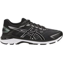 asics black walking shoes mens herren