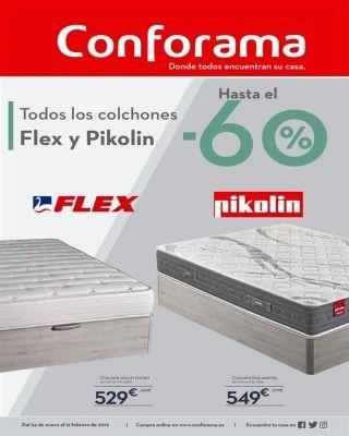 Catalogo Conforama Colchones Flex Y Pikolin Con Descuentos Hasta