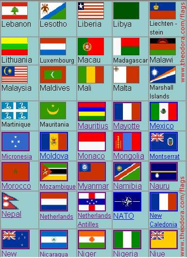 All The Flags Of The World And Their Names Elaborated Flags Of The Country With Names All Country Name And Capital World Flags With Names Flags Of The World Flags With Names