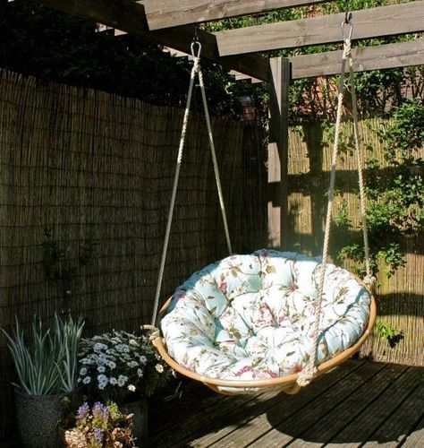 Delightful Hanging Chair Swing....i Know What To Do With The Papasan Chair For My  Sonu0027s Room | For The Home | Pinterest | Papasan Chair, Hanging Chair And  Swings