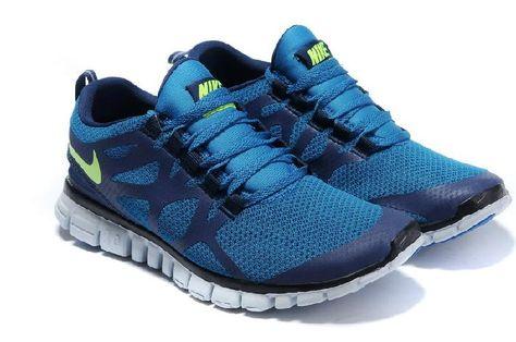 db156acbbb9 Bestellen Beliebt Nike Free 3.0 V3 Rennschuhe Weiß Damen Blau Online -  Beste Nike Schuhe