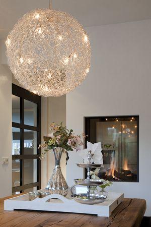 Mooie lamp voor boven eettafel