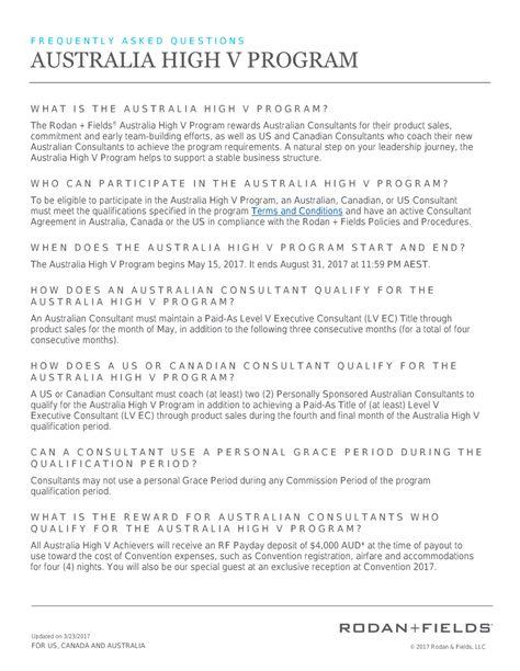 R+F Library Rodan + Fields Austraila Pinterest - commission sales agreement
