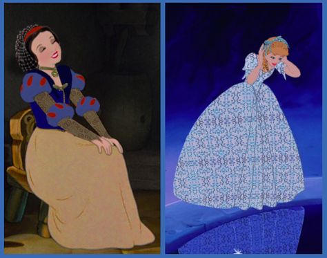 Historically accurate Snow White and Cinderella
