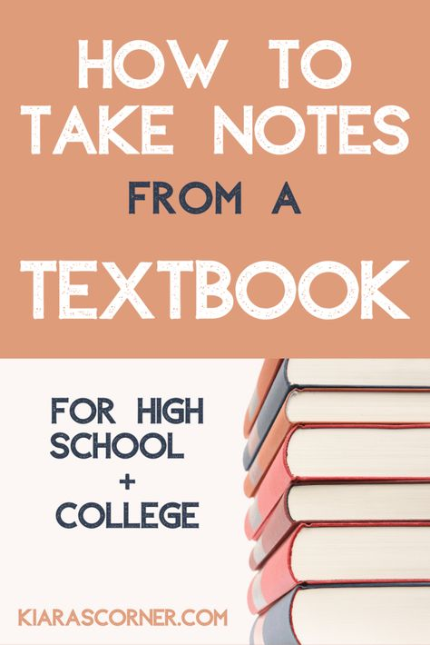 how to take notes, taking notes, how to take notes in college, how to take notes from a textbook, pretty notes Note Taking High School, College Note Taking, College Notes, Note Taking Strategies, Note Taking Tips, Life Hacks For School, School Study Tips, School Tips, Pretty Notes