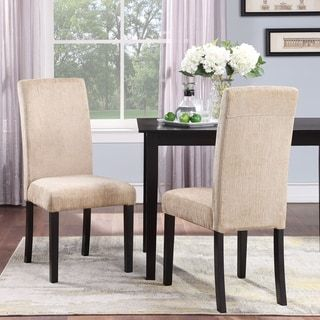 Aprilia Upholstered Dining Chairs Set Of 2 Beige Monsoon Dining Chairs Furniture Upholstered Dining Chairs Parsons chairs set of 2