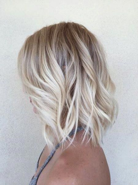 18 Short Wavy Blonde Hairstyles 2017 2018 Blonde Bob