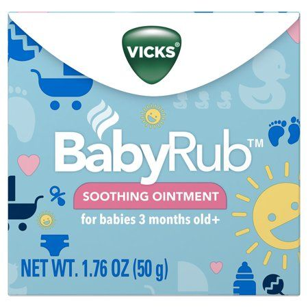 Health Chest Rub Vicks Baby Rub Baby Vicks