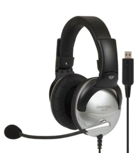 Koss SB 45 USBHeadset mit Electret-Mikrofon für professionelle Kommunikation…