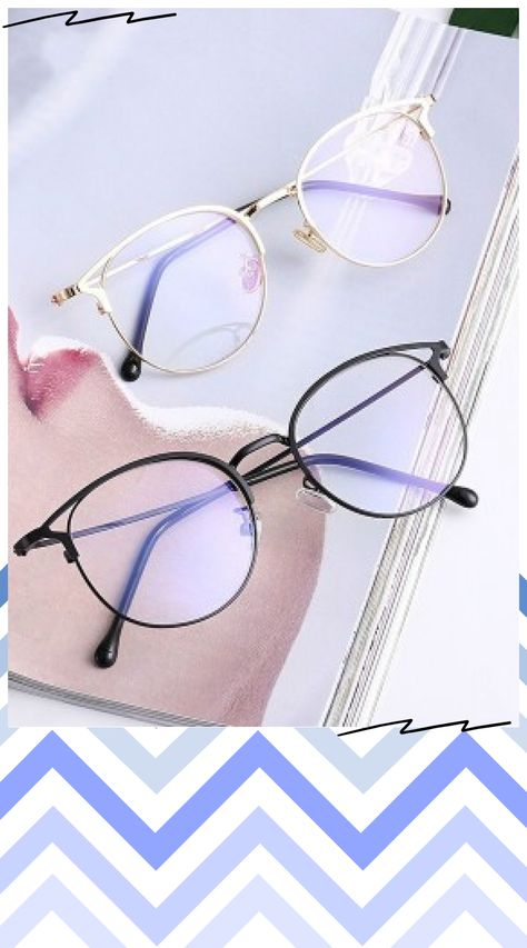 ⭐⭐⭐⭐⭐ Points are a little crooked, but you can adjust. Glasses For Oval Faces, Glasses Frames Trendy, Cool Glasses, New Glasses, Glasses Trends, Circle Sunglasses, Fashion Eye Glasses, Accesorios Casual, Men Eyeglasses