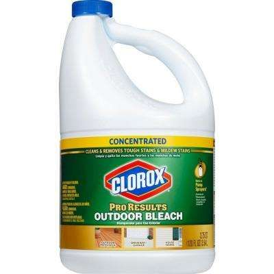 120 Oz Proresults Concentrated Outdoor Bleach Clorox Bleach Cleaning