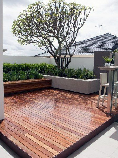Top 50 Best Modern Deck Ideas Contemporary Backyard Designs Small Patio Design Patio Backyard