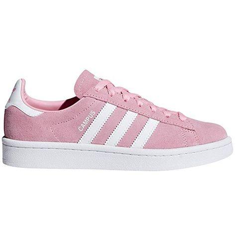 adidas Campus Sneaker Damen Rosa (Light Pink) mit weißen ...