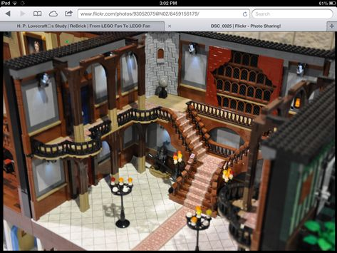 Lego staircase.